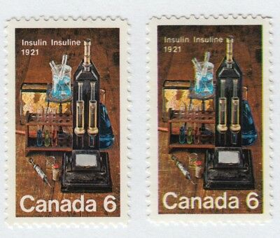 ERROR / VARIETY = BLURED IMAGE = Unlisted = Canada 1969 #502 MNH [ec142]