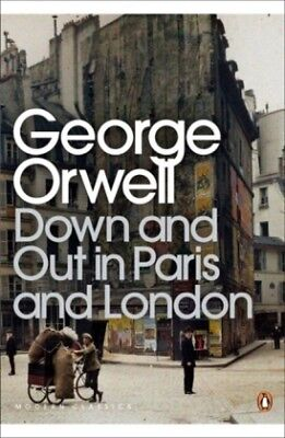 Down and Out in Paris and London - With a Intro...-NEW-9780141184388 by Orwell,