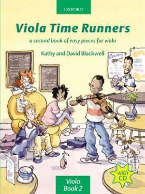 Viola Time Runners + CD - A second book of easy...-NEW-9780193221185 by Blackwel