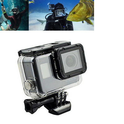45M For GoPro Hero 6 5 Cam Waterproof Protective Cover Case Kit Diving Surfing