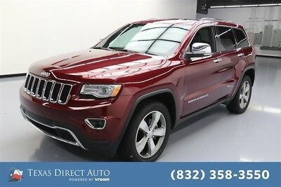 Jeep Grand Cherokee Limited Texas Direct Auto 2016 Limited Used 3.6L V6 24V Automatic RWD SUV
