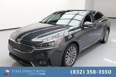 KIA Cadenza Technology Texas Direct Auto 2017 Technology Used 3.3L V6 24V Automatic FWD Sedan