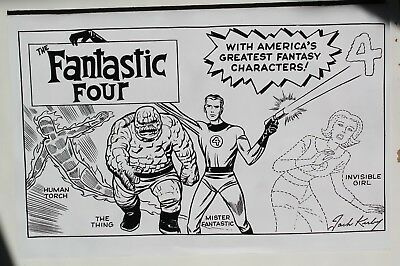 Fantastic Four #1 Jack Kirby Hidden Gem Sketch Variant - Mint Condition