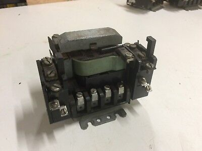 GE / General Electric CR106B0 Nema 0 Contactor, 110V Coil, Used, WARRANTY