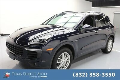 Porsche Cayenne Diesel Texas Direct Auto 2015 Diesel Used Turbo 3L V6 24V Automatic AWD SUV Moonroof