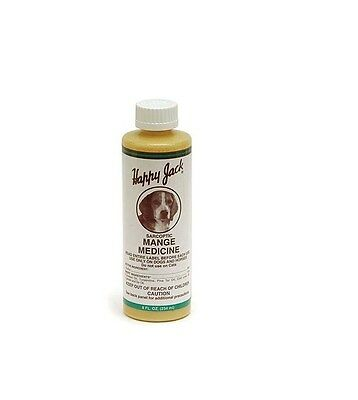 Sarcoptic Mange for Dogs - Itching Eczema Irritations Fungi Ear mites