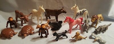 15 Playmobil Tiere Figuren