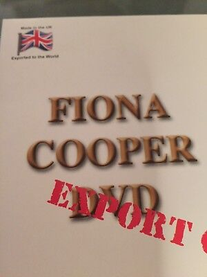 Fiona Cooper DVD 924 Sought after title