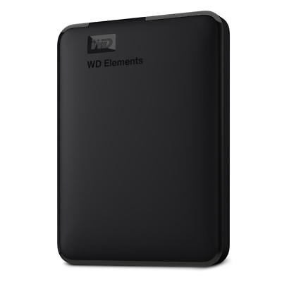 "WD Elements Portable 4TB (2,5"") USB 3.0 _ neu & ovp _ WDBU6Y0040BBK-WESN"