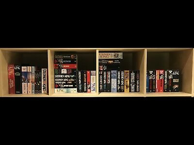 Stephen King - 45 Books Collection - All But 6 In Amazing Condition