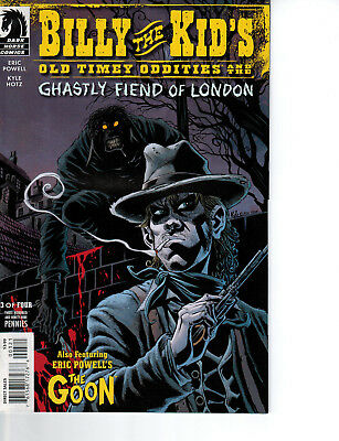 Billy the Kid's Old Timey Oddities & Ghastly Fiens of London #3, Variant Cover