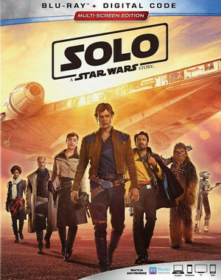 Solo: A Star Wars Story [New Blu-ray] With Blu-Ray, 2 Pack, Ac-3/Dolby Digital