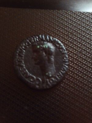 Caligula Vesta S-C AS 37-41 AD. Bearing the name Caesar Germanicus aka Caligula