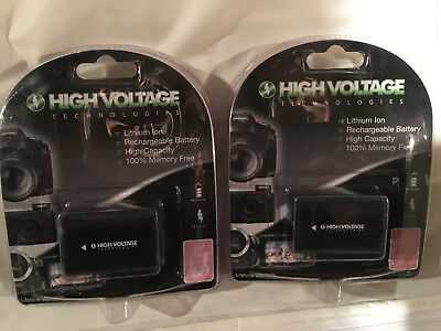 Two Replacement Batteries Comparible to the Sony NP-FH50 NEW