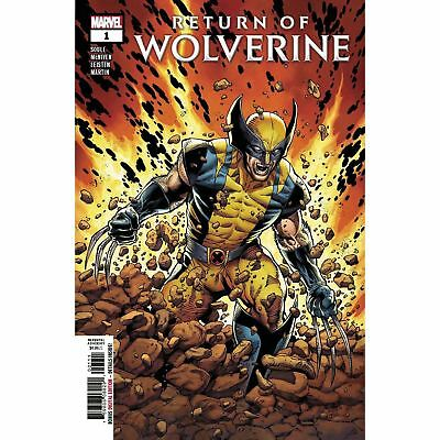 Return Of Wolverine #1 Main Cover First Print 2018 Marvel Comics Hot! Nm