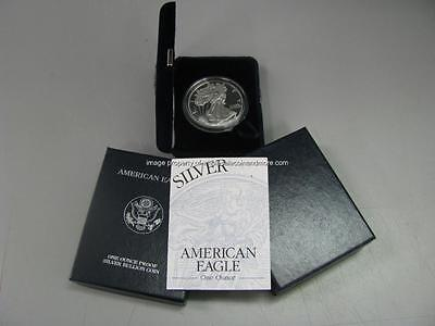 2000 P Proof Silver American Eagle Dollar US Mint $1 ASE Coin