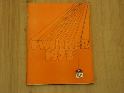 Twikker – Rag Mag – Sheffield Students' Charities Appeal – '72