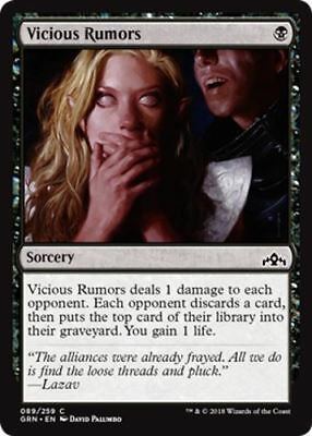 4 Vicious Rumors, Guilds of Ravnica