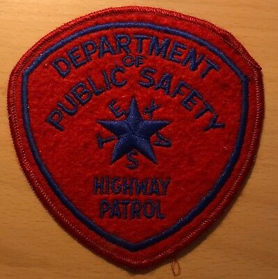 Department of Public Safety Texas USA Highway Patrol Patch