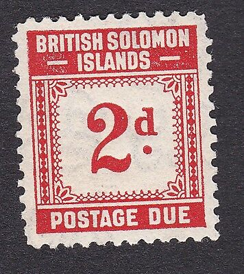 British Solomon Islands 1940 2d scarlet Postage Due S.G.D2 mint hinged