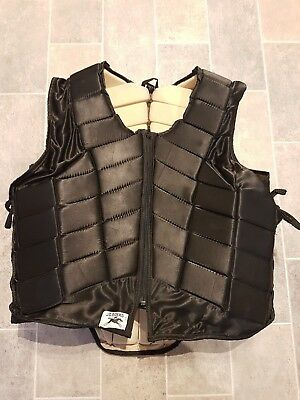 Horse Riding Equestrian Safety Vest Body Protector With Adjustable Side Laces