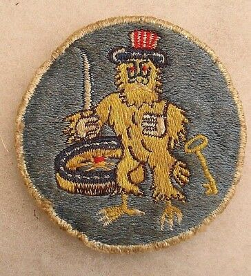 Super Rare Theater Made Wwii 22 Qm Detachment Patch Striking Design Off Ike