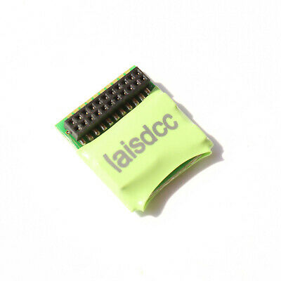 Laisdcc motor + 4 Function DCC Decoder onboard MTC 21-Pin Plug. UK Stock