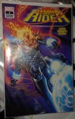 Cosmic Ghost Rider 1 SDCC J Scott Campbell Signed Glow In The Dark Variant w COA