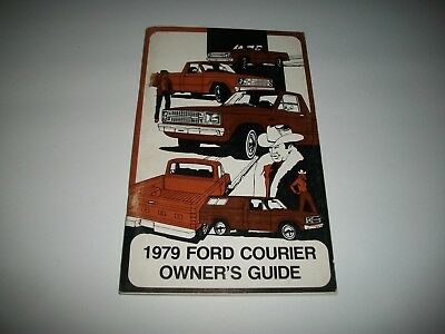 1979 Ford Courier Truck Nos Owners Manual Clean