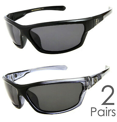 cdb803ee9a 2 PAIR COMBO Nitrogen Polarized Sunglasses Golf Running Fishing Driving  Glasses