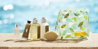 L'Occitane 5 Piece VERBENA REFRESHING COLLECTION in bag - NEW