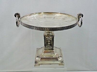 WONDERFUL VERY LARGE SILVER PLATED CAKE STAND EUROPEAN  WMF early 20th century