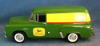 John Deere Diecast Metal 1957 Dodge Panel Delivery Truck Bank Spec Cast