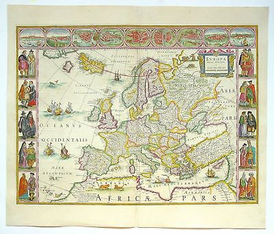 A4 Reprint of Old Maps Old European Great Britain Map 102 2