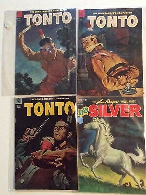 Lot of western TONTO AND SILVER...FINE, VERY FINE