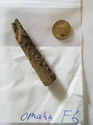 Original WW2 US .30 Relic from Fox Green Sector of Omaha Beach Normandy D-Day