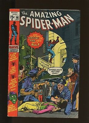 Amazing Spider-Man 96 VG 4.0 * 1 Book Lot * 1971,Marvel! Green Goblin! By Lee!