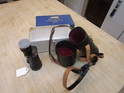 Accura Photo Monocular W/ Case And Box 8 x 30  Made In Japan Vintage