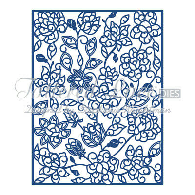 Tattered Lace Adele Panel die D479 PRICE REDUCED!
