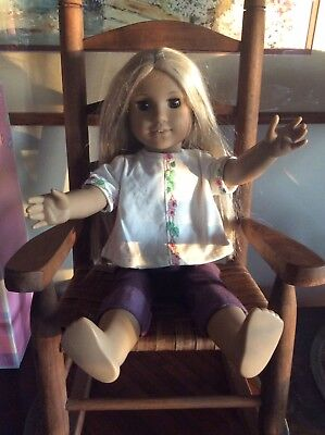 """American Girl doll & Outfit 18"""" for TLC PARTS REPAIRS W/Conditions SOLD AS IS"""