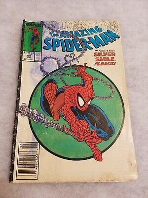 Stained cover Amazing Spider-Man #301 Newstand Variant Todd McFarlane