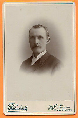 Boston, MA, Portland & Old Orchard, ME, Portrait of a Man, by Smith, ca 1890s