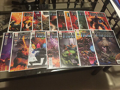 Thanos 1 - 18 Complete Lot Run Incl 13 Unread Perfect NM All First Prints