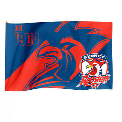 Sydney Roosters NRL Game Day Flag 60 cm x 90 cm