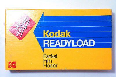 2 No Kodak Readyload 5x4 Film Cassette