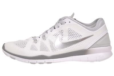5a36d74f10c NIKE WMNS FREE 5.0 TR Fit 5 Womens Cross Training Shoes White 704674 ...