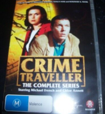 Crime Traveller The Complete Series (Australia Region 4) DVD - NEW