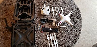 DJI Phantom 3 Advanced Drone With Case and Accessories