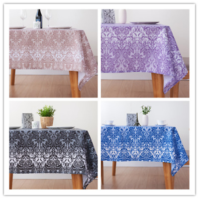 Countryside Printed Tablecloth Polyester Waterproof  Rectangular Table cover