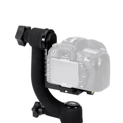 Panorama Gimbal tripod head 360 degree rotation for telephoto lenses / DSLR Cam